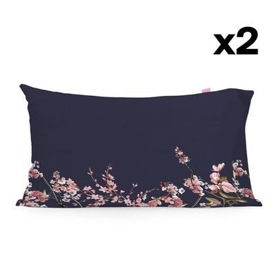 Kissenbezug 50 x 75 | Chinoiserie Blau| 2er-Set