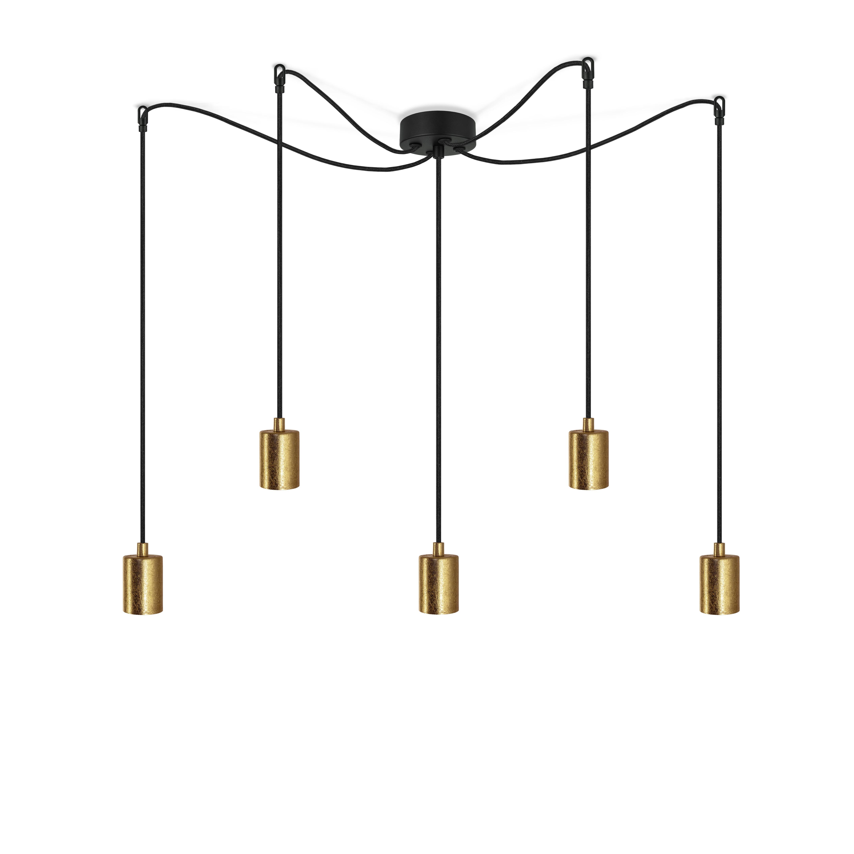 Pendant Lamp CERO 5_S   Gold & Black
