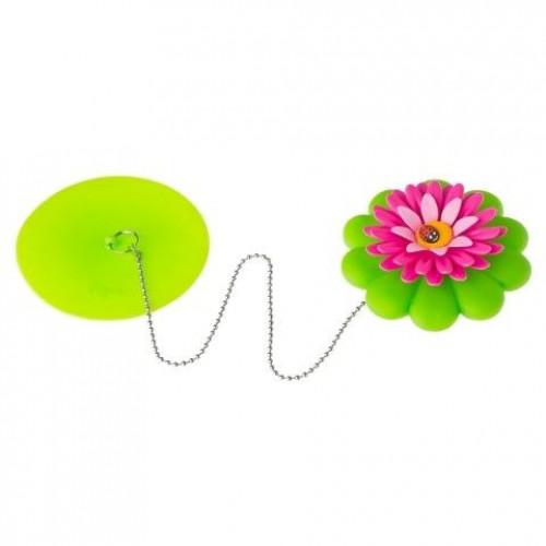 Bouchon pour Baignoire Flower Power
