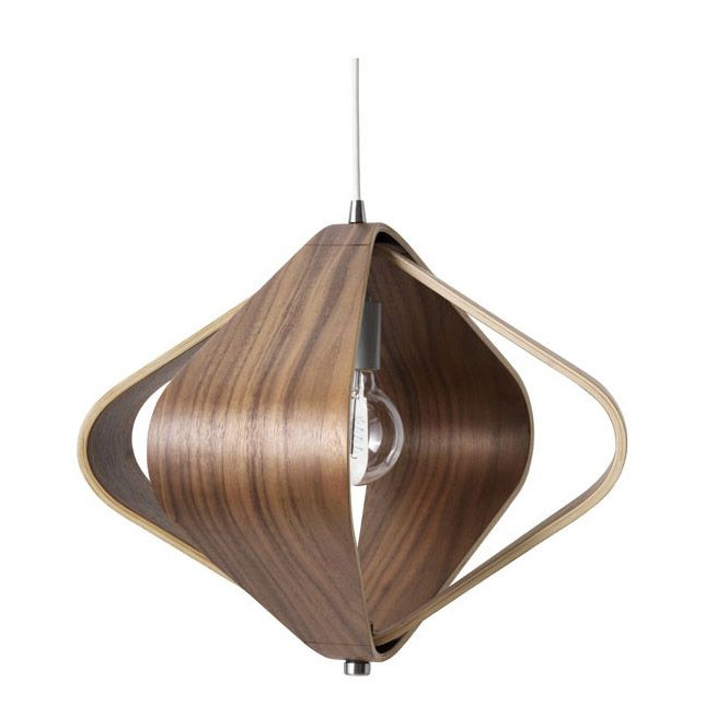 Kite Pendant Lamp   Walnut