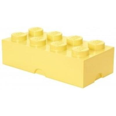 Aufbewahrungsstein 8 X- Großes gelbes Pastell