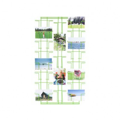 Picture Wall Rack Green