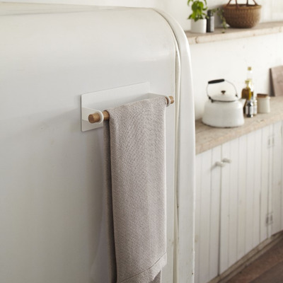 Magnetic Dish Towel Hanger Tosca | White