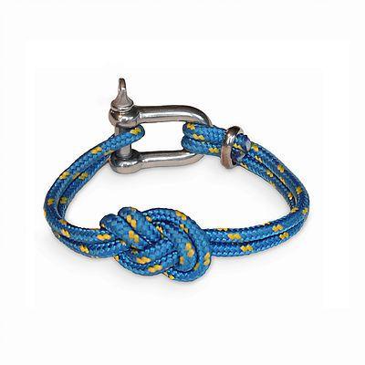 Shackle Bracelet | Savoy Knot | Blue