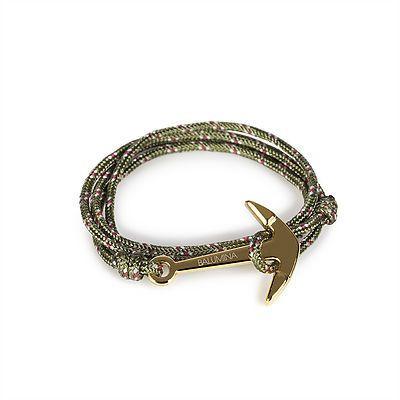 Anchor Bracelet | Freedom Knot | Green
