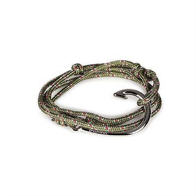 Hook Bracelet | Luck Knot | Green