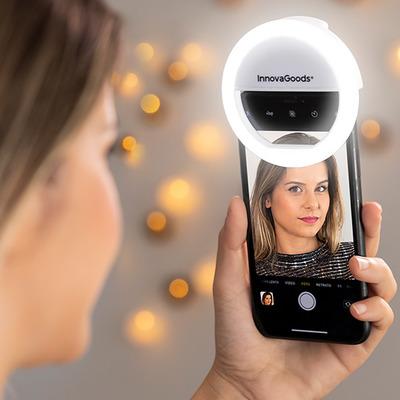 Lichtring für Selfies, wiederaufladbar Instahoop