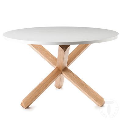 Round Table Frisia I White