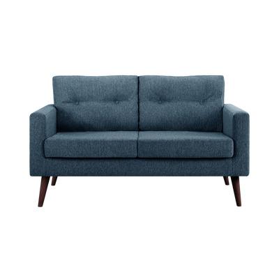 2-Sitzer-Sofa Biber   Petrolblau