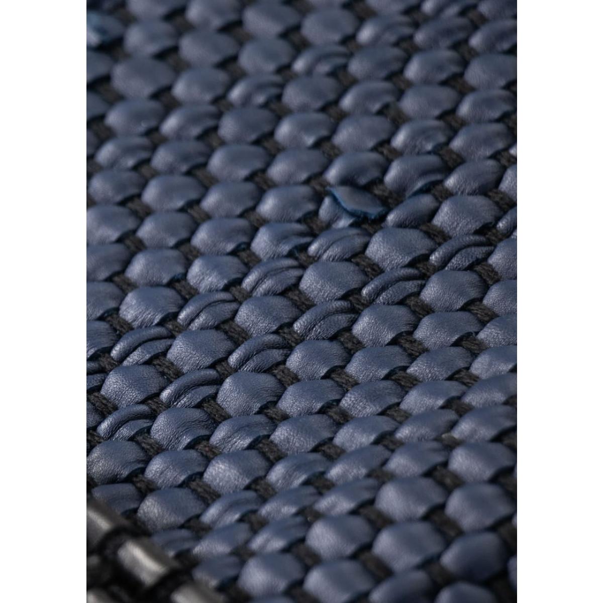 Kalbsleder Teppich Porto | Marine