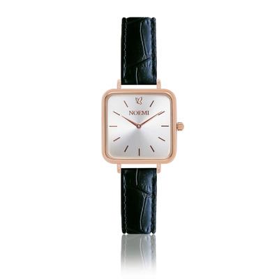 Uhr Woman Noemi I Rose Gold-Schwarz-Silber