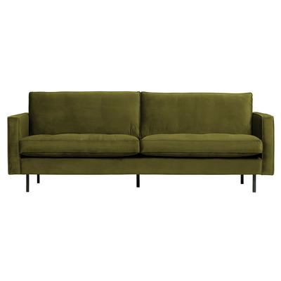 2,5 Seater Sofa Rodeo Classic Velvet | Olive Green