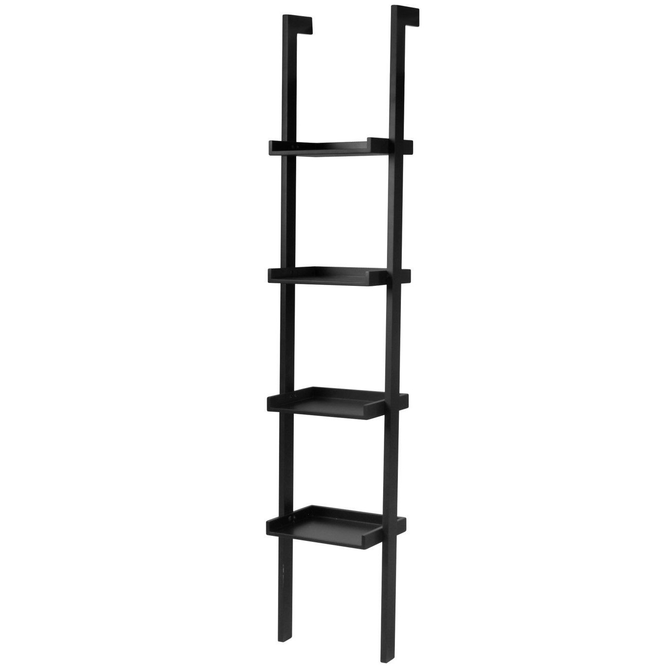 Wall Bookshelf Narrow | Black