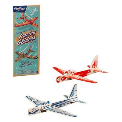 Flugzeuge aus Holz | 2er-Satz