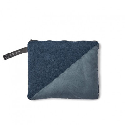 RPET Active Dry Handtuch Groß | Blau