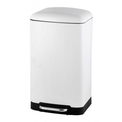 Abfallbehälter RIMINI Soft Close 30 l | Weiß