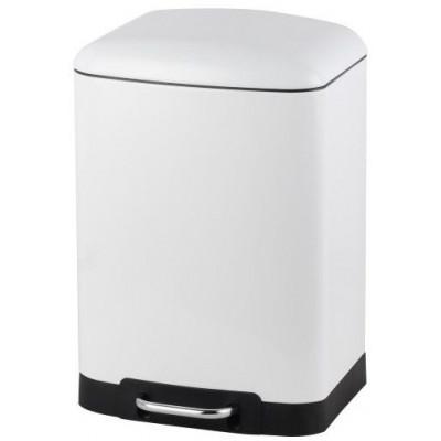 Abfallbehälter RIMINI Soft Close 12 l Weiß