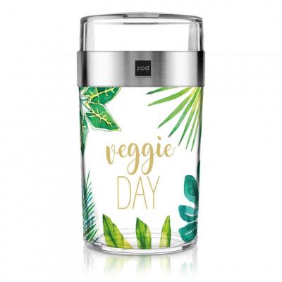 Glas Snack2Go Veggie Day   Dschungel