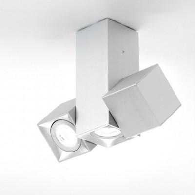 Wandleuchte Dau 204 x 3 Gu10 | Aluminium gebürstet