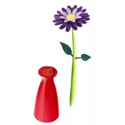 Pen with Vase Flower   Violet