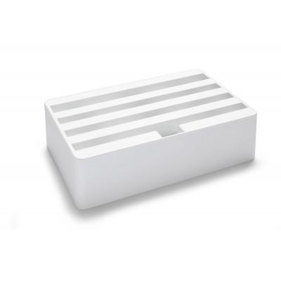 Ladestation + Zubehörsatz 1 Klassik   Weiß