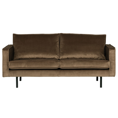 2,5 Seater Sofa Rodeo Velvet | Taupe