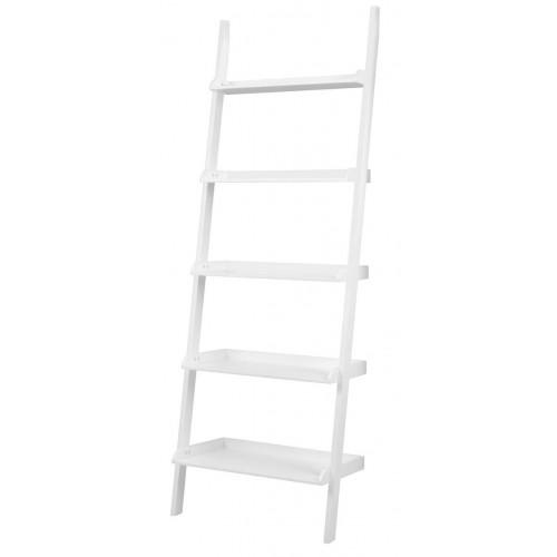 Wandbücherregal Breit | Weiß