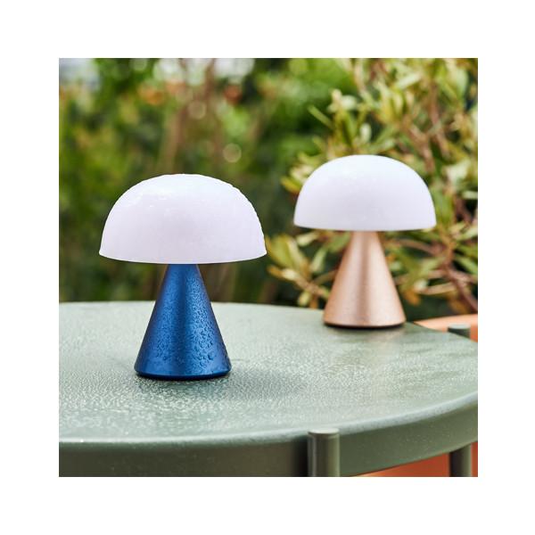 Tragbare LED Lampe Mina Medium   Aluminium
