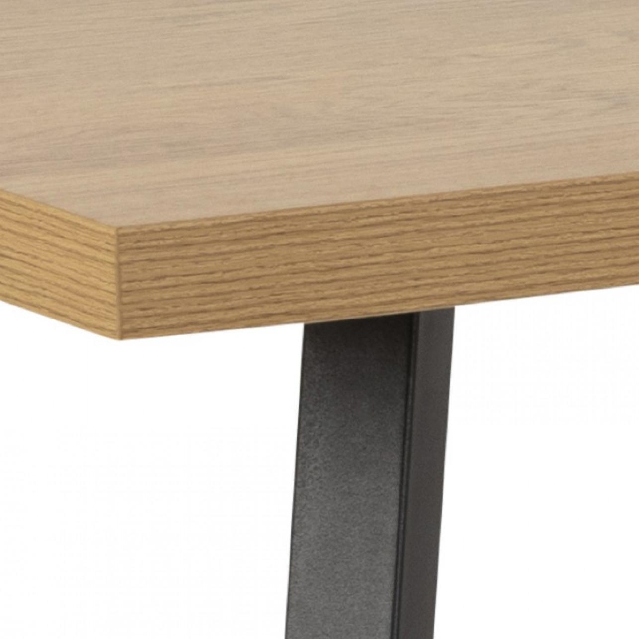 Esstisch Zales 160 cm | Helles Holz