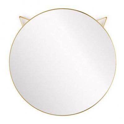 Spiegel Katze   Gold