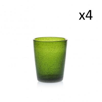 Glas Marco Polo 4er-Set   Grün
