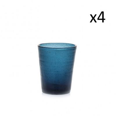 Glas-Marco-Polo 4er-Set   Tiefblau
