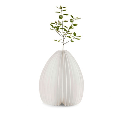 Smart Vase Lampe   Walnuss