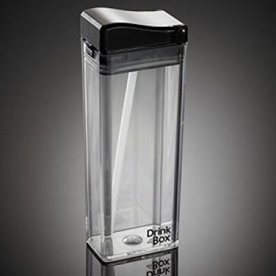 Einzigartiges Getränk in der Box | Schwarz und transparent