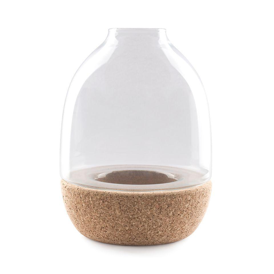 Pitaro Vase   Transparent