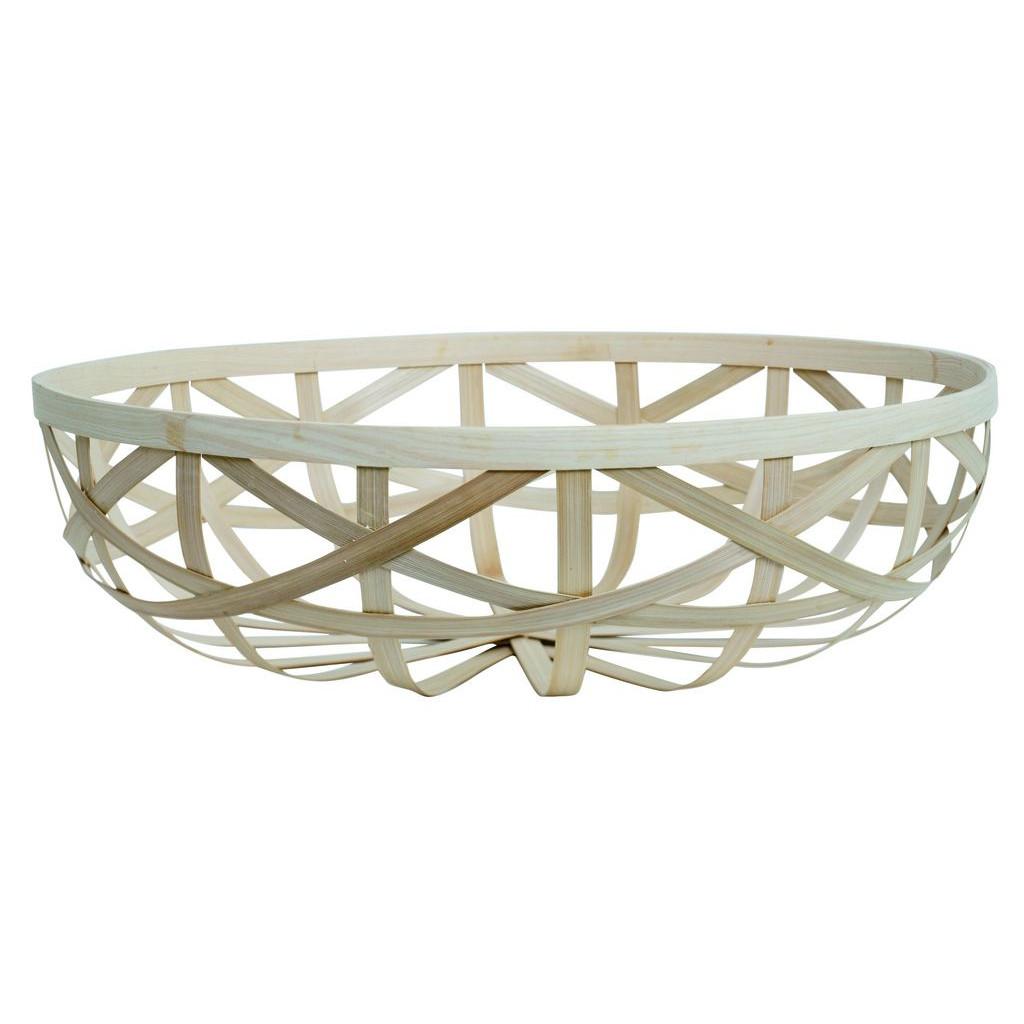 Splint Bamboo Korb Medium