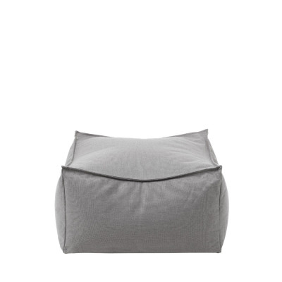 Outdoor Pouf Stay | Stone
