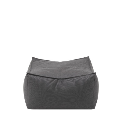 Outdoor Pouf Stay | Coal