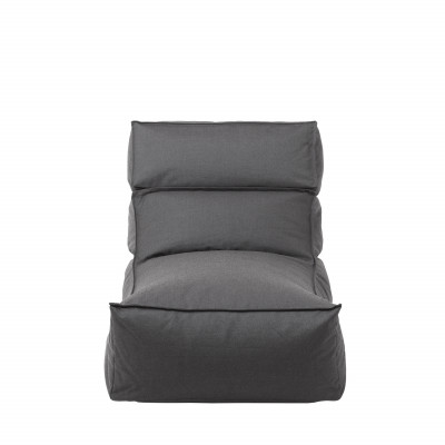 Outdoor Lounger L Stay | Coal