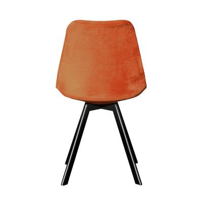 Schalenstuhl Kick Soof I Orange