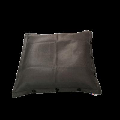Sitzsack komplett 100 x 100 cm   Anthrazit