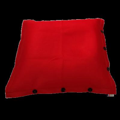 Sitzsack komplett 100 x 100 cm   Rot