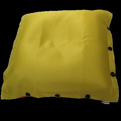 Sitzsack komplett 100 x 100 cm   Grün