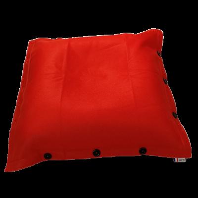 Sitzsack komplett 100 x 100 cm   Orange