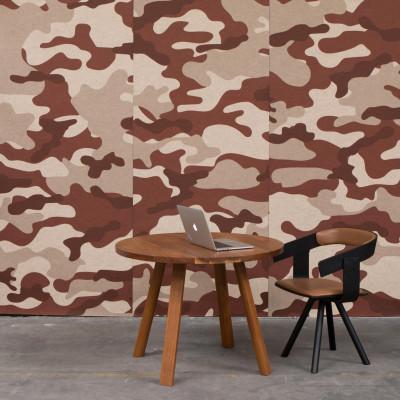 Akustiktapete BuzziSkin Printed   Camouflage Wüste