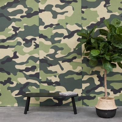 Akustiktapete BuzziSkin Printed   Camouflage Amazonas