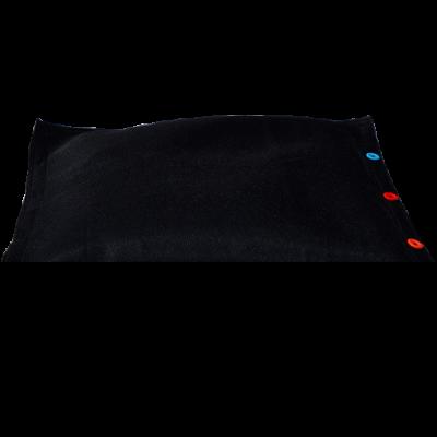 Sitzsack komplett 100 x 100 cm   Schwarz