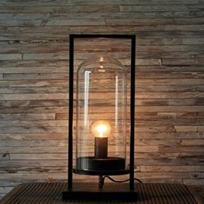 Lampe Labo Glasstruktur