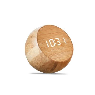 Tumbler Klick-Uhr   Bambus