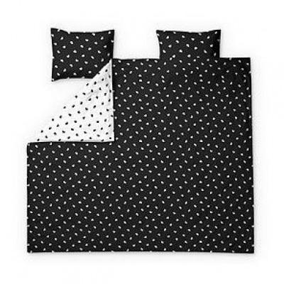 Double Duvet Cover Set Onni | Black & White